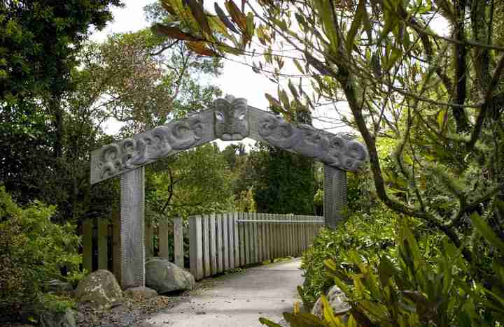 Otari Wiltons Bush gate